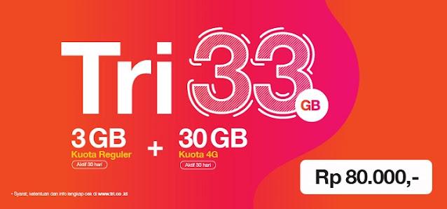 Tri 33GB 4G