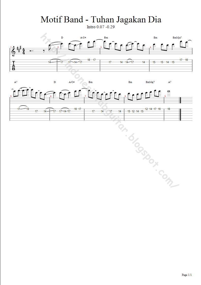 Chord Tuhan Jaga Dia : chord, tuhan, Lirik, Tuhan, Jagakan
