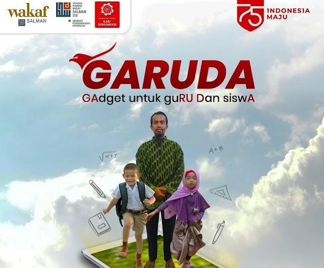 Wakaf Salman Galang Donasi GARUDA, Targetkan 750 Smartphone Untuk Guru dan Siswa