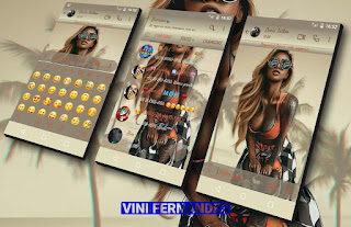 Sexy Girl Theme For YOWhatsApp & Fouad & NS WhatsApp By Vinícius
