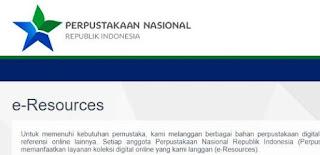 perpustakaan nasional republik indonesia-perpustakaan online yang dapat diakses secara elektronik