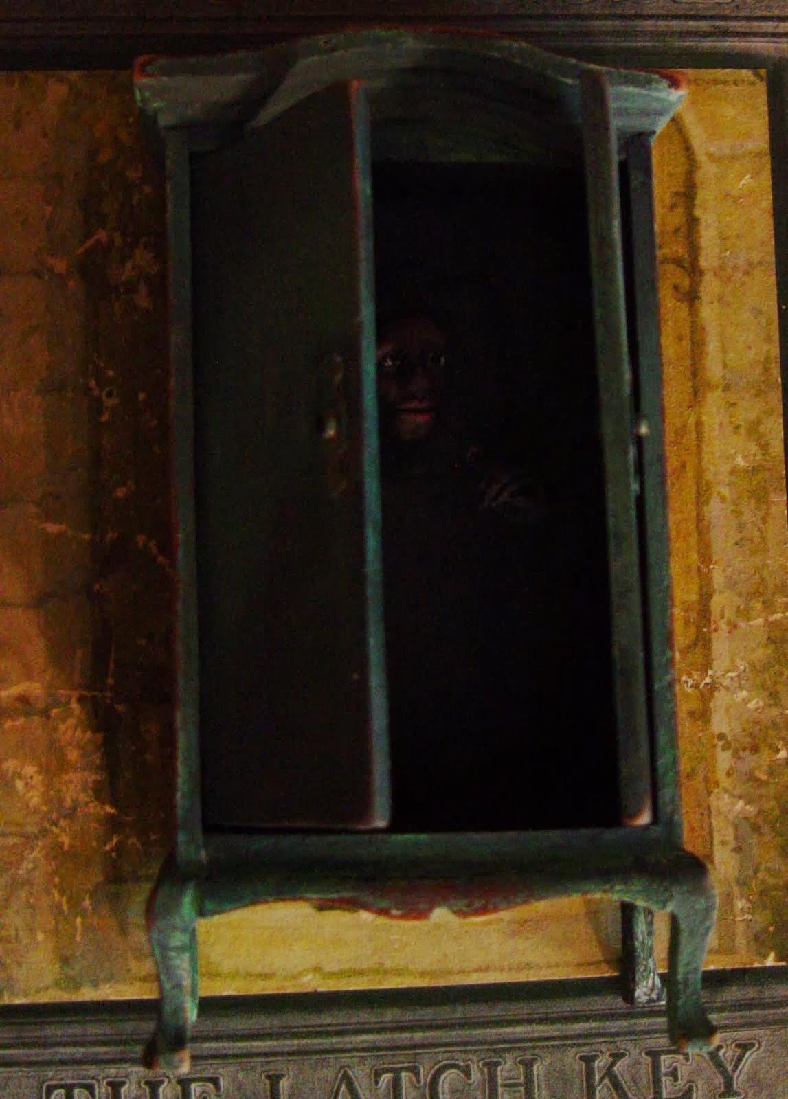Liz Adeles Spooky Art Haunted Closet