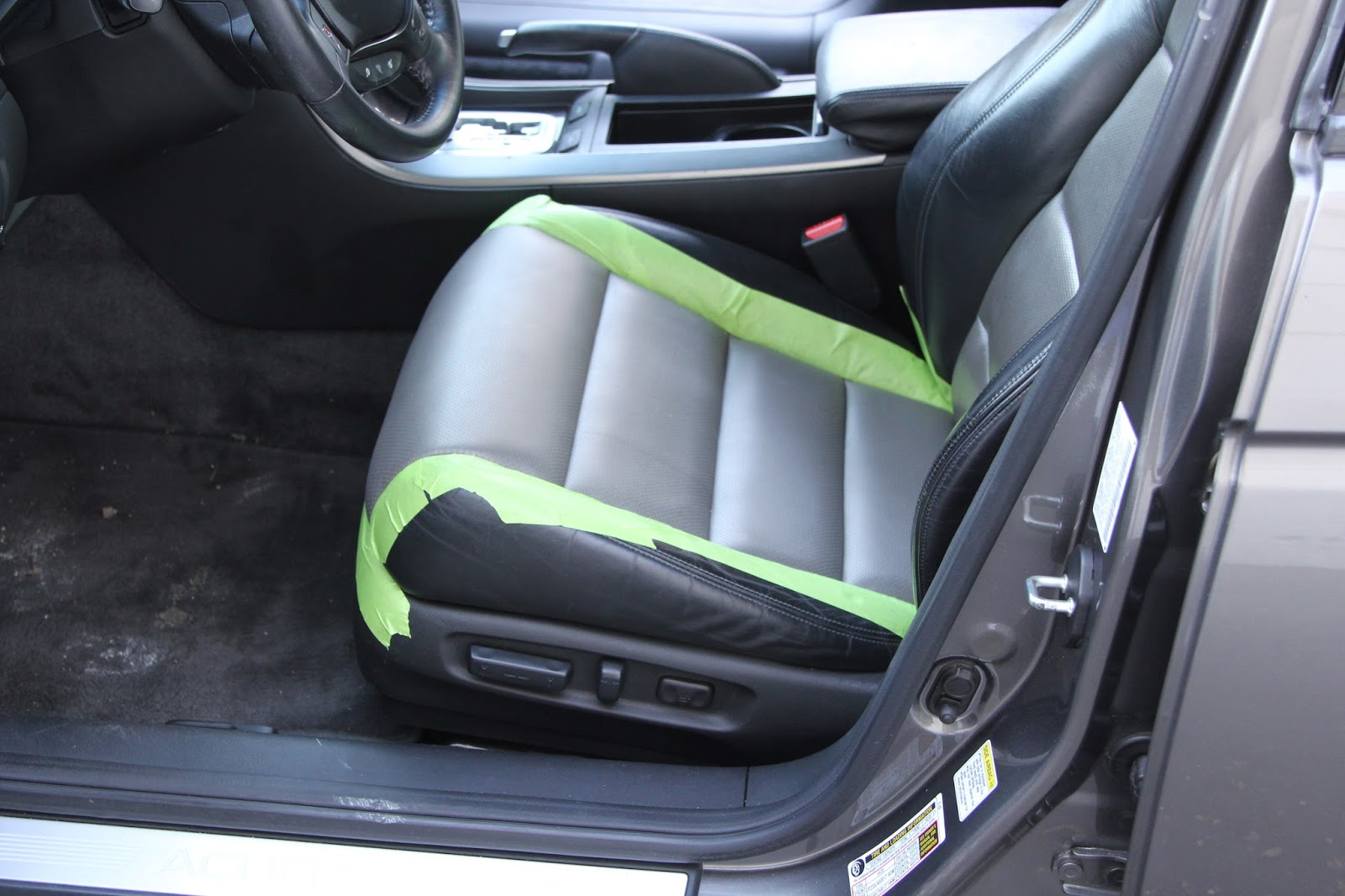 Cooks Upholstery And Classic Restoration Acura TL Front Leather - Acura tl leather seats