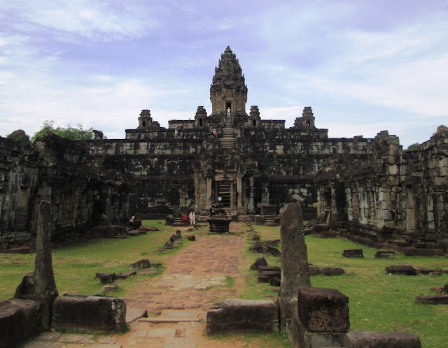 Templo de Bakong en Angkor, Camboya