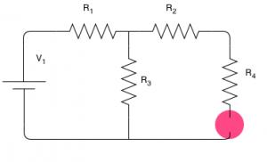 Description: un diviseur de tension peut être appliquée directement ici