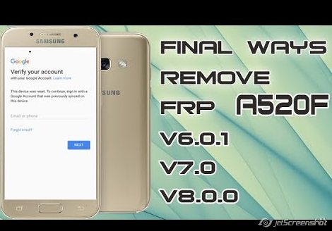samsung a520f combination last version frp all version done 100