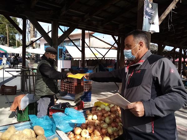 Συνεχίστηκε η εξόρμηση του ΣΥΡΙΖΑ-ΠΣ Λάρισας σε λαϊκές αγορές της Λάρισας και της Ελασσόνας