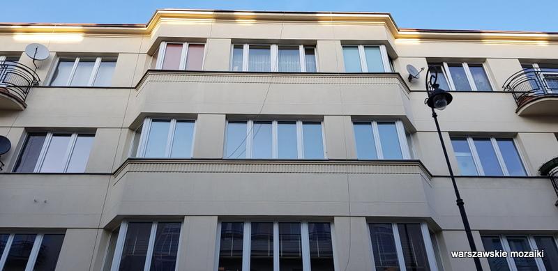 Warszawa Warsaw Gelbard Sigalin lata 30 Powiśle ulice Warszawy Śródmieście kamienica architektura architecture modernizm
