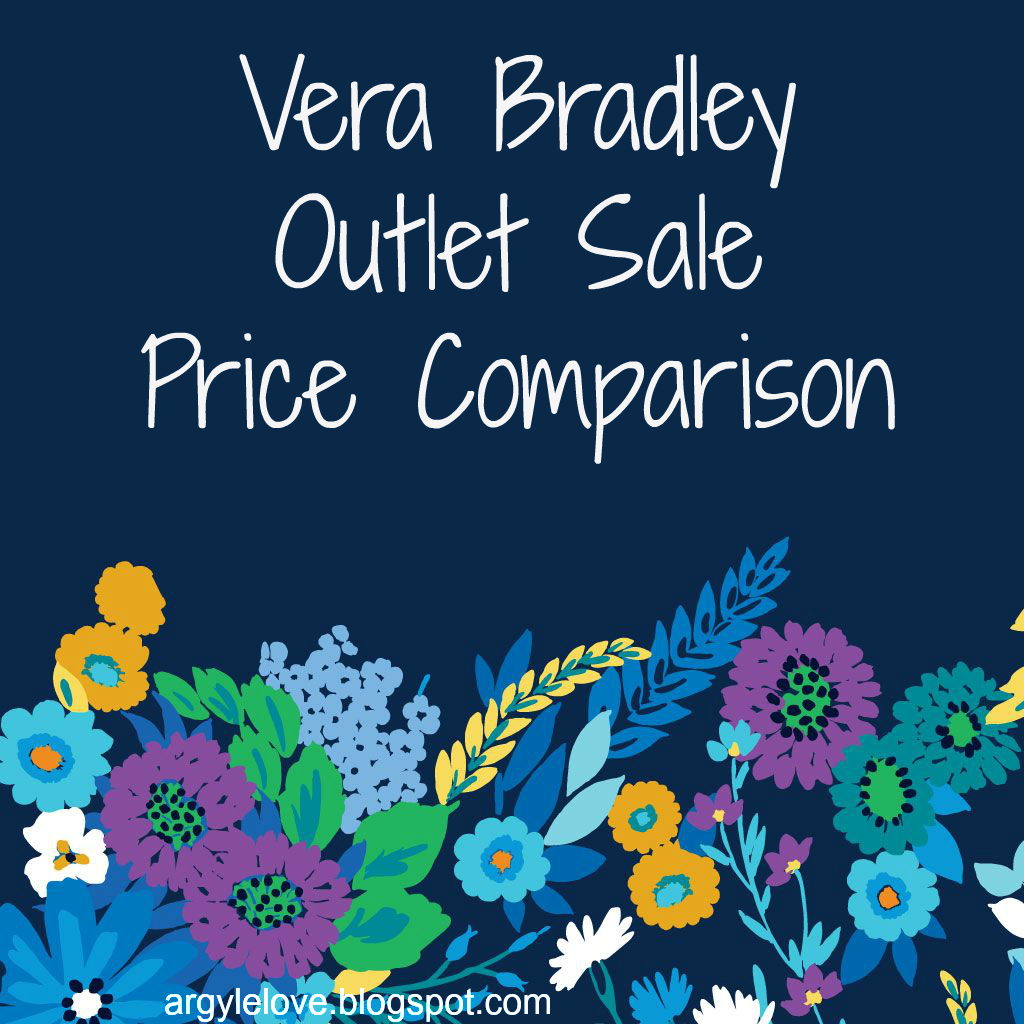 Vera Bradley Outlet Sale Price Comparison