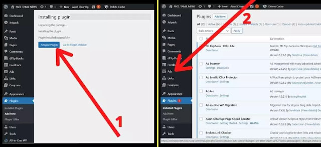 Floating Ads plugin is fully uploaded