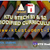 KTU Btech Curriculum for  Semesters 1 and 2 Modified