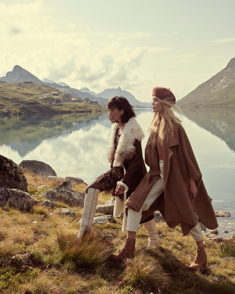 Free People Holiday 2019 Campaign by Andreas Ortner