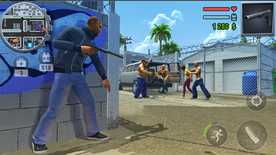 تحميل لعبة Gangs Town Story