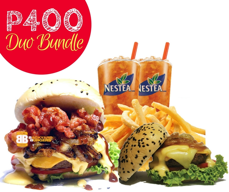 FTW! Blog - #BBCebu Duo Bundle at PHP400 ONLY!!, #032eatdrink, #zhequiaDOTcom, #FTWBlog, #FTWeats #BackyardBurgersCebu