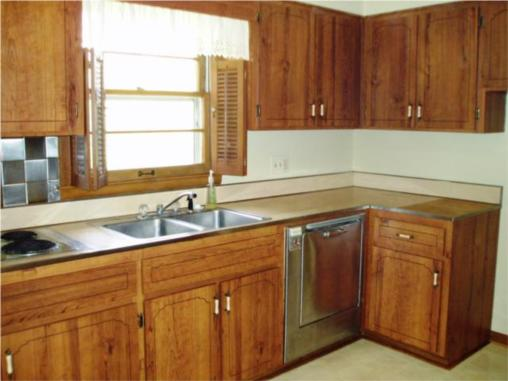 Kitchen Redo Cabinet Sale Remodelaholic With Dark Gray Cabinets White Subway Tile Before