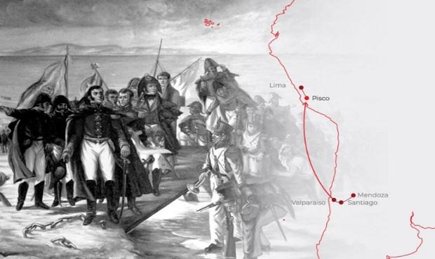 Perú conmemora hoy 200 años del histórico desembarco del general José de San Martín