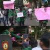 Demo Turunkan Harga BBM di Tengah Pandemi Corona, Mahasiswa di Medan Ditangkap Polisi