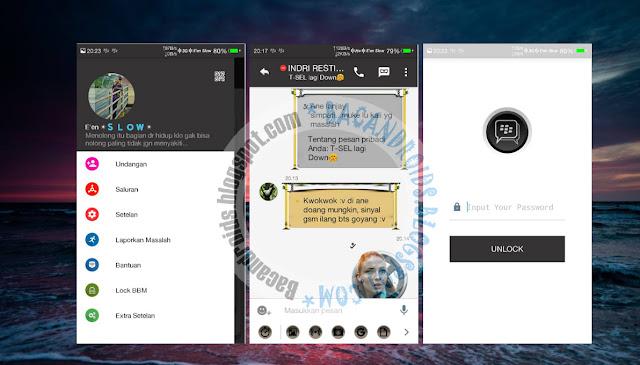download BBM2 Mod V2.13.1.14 Tema Minimal Apk Versi Dual Clone