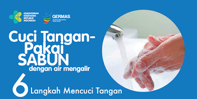 cuci tangan yang benar pakai sabun