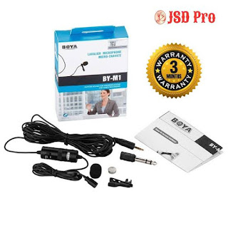 Top budget Microphone for YouTube, boya by M1 microphone
