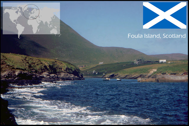 Foula, located in the Shetland archipelago of Scotland