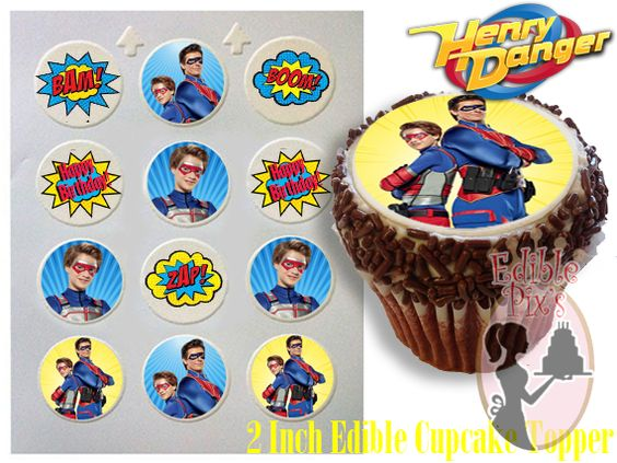 Cupcake tema Henry Danger