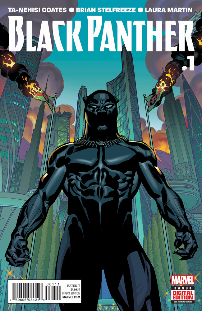 BLACK PANTHER #1 FROM MARVEL COMICS