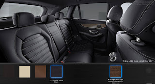 Nội thất Mercedes GLC 300 4MATIC Coupe 2016 màu Đen 211