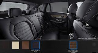 Nội thất Mercedes GLC 300 4MATIC Coupe 2017 màu Đen 211
