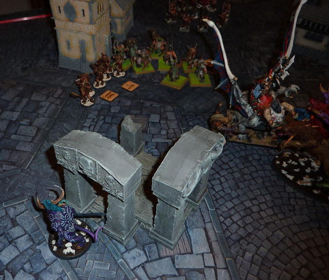 """Age of Sigmar Battle Report: """"Take And Hold"""" - Disciples of Tzeentch vs Nurgle Rotbringers."""