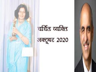 चर्चित व्यक्ति 2020