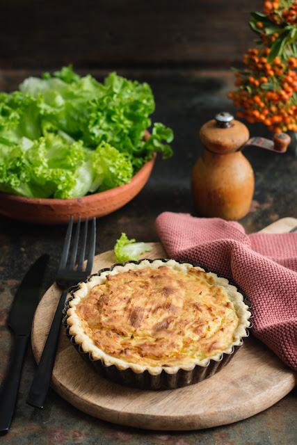 Gouère bourbonnaise, tarte aux pommes de terre et fromage frais