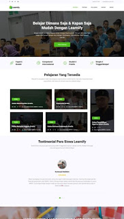 Halaman Landing Page