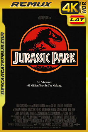Jurassic park 1993 BD4K Remux Latino – Inglés