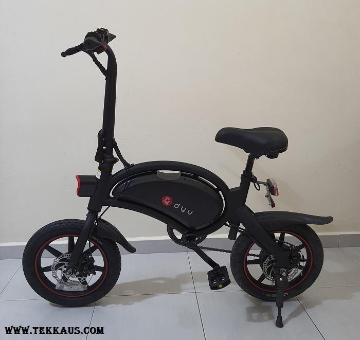 DYU D3+ Electric Bike Maximum Weight Load 120kg