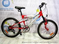 Sepeda Gunung Remaja Wimcycle Scorpion 6 Speed 20 Inci