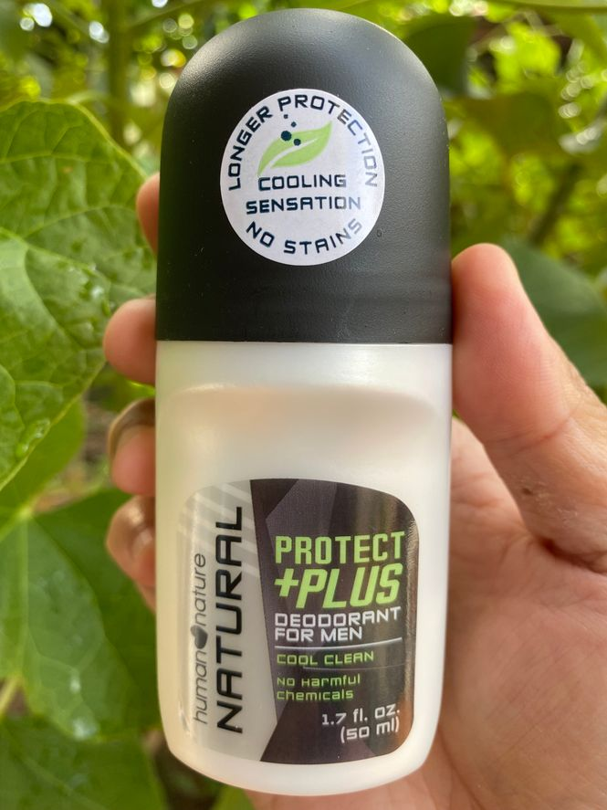 Human Nature Protect + Plus deodorant for men