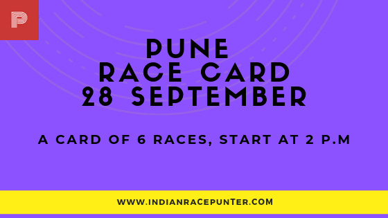 Pune Race Card, free indian horse racing tips,