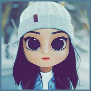 animated girl images for whatsapp