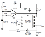 ICL7660 CMOS Voltage Converter Circuit Applications