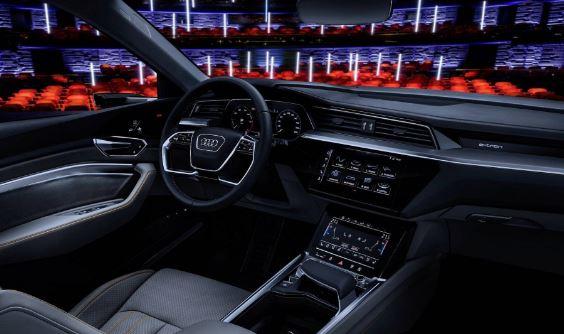 Audi E-Tron 2020 Full interior view