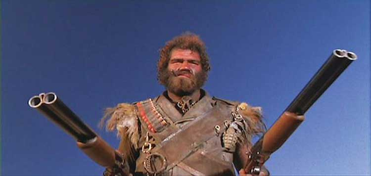 Randall Tex Cobb in Raising Arizona, directed by the Coen Brothers.