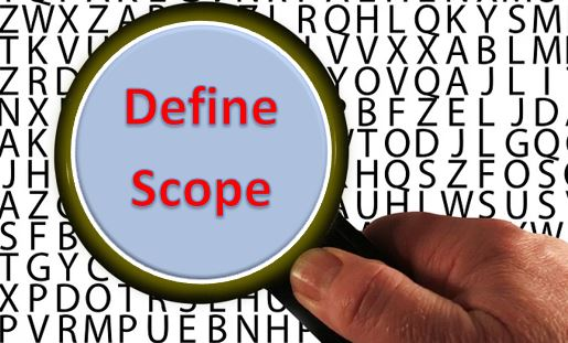 Define Scope Process and its importance in terms of PMP