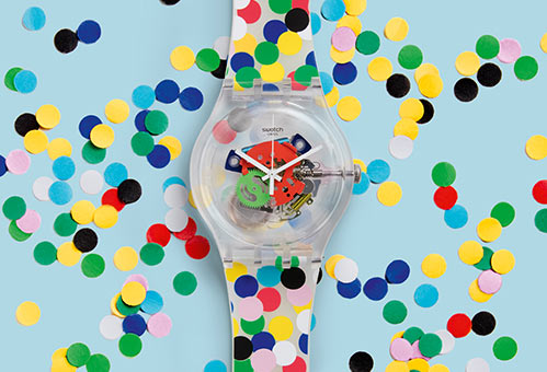 Swatch Spot the Dot