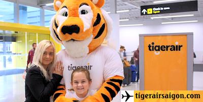 Vé máy bay Tiger Air quận 6