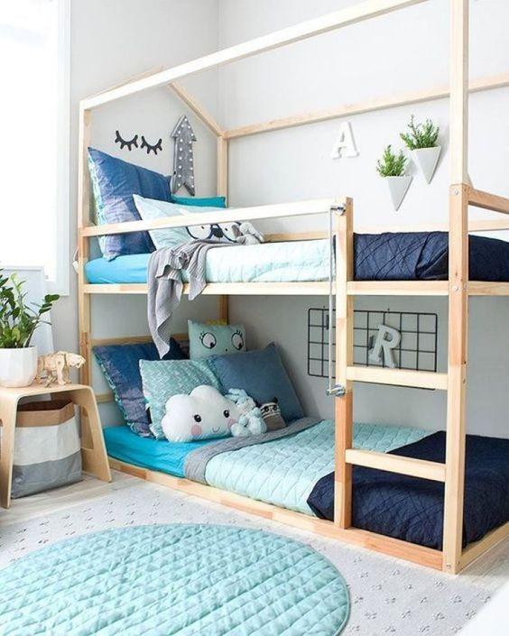 20 Ideas Asombrosas Para Habitaciones Pequeñas Para Dos Más Chicos