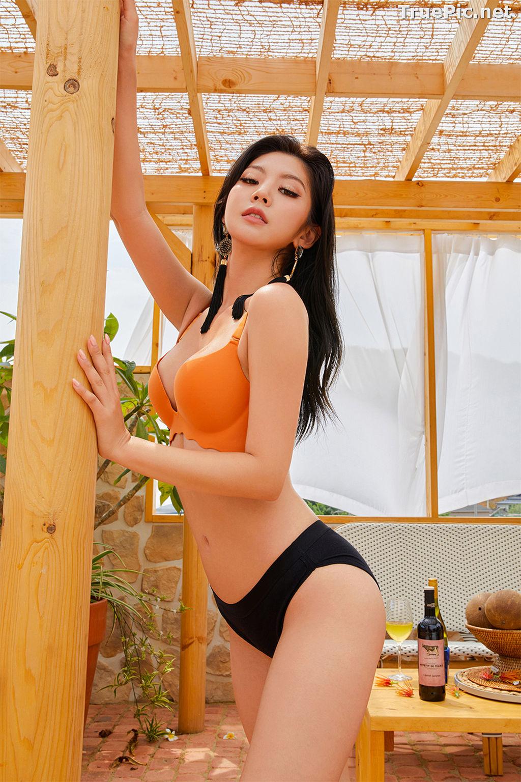 Image Korean Fashion Model – Lee Chae Eun (이채은) – Come On Vincent Lingerie #6 - TruePic.net - Picture-10