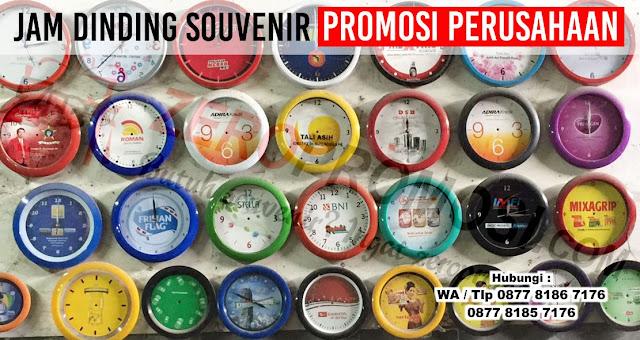 Vendor Jam Dinding Souvenir Promosi Perusahaan di Tangerang