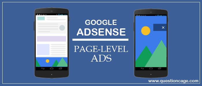 Adsense Page Level Ads