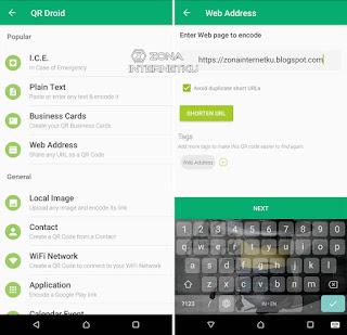 Cara Membuat QR Code Sendiri Di Android Melalui Aplikasi QR Droid 2